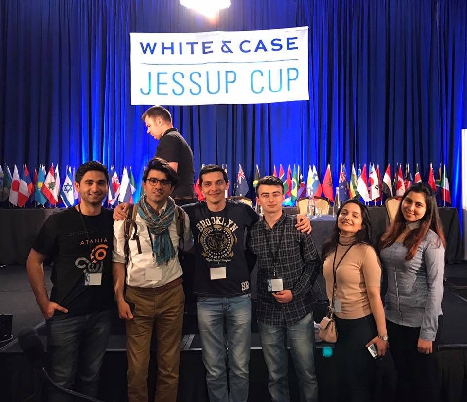 The 2017 Jessup Azerbaijan Team
